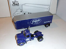 "First Gear Model B-61 Mack Tractor & Trailer ""Grapette Soda"""