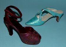 "Just the Right Shoe, Raine, ""2000 Club"" 2 pc, boxed set, Nib, Society Slide"