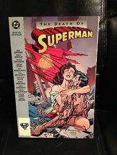 1993 DC Comics Superman: The Death of Superman comic book