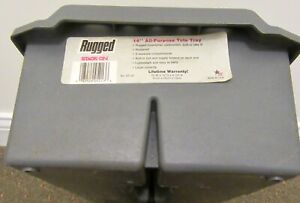 """Stack-On  Model ST-16 """"Rugged"""" 16"""" All-Purpose Tote Tray"""