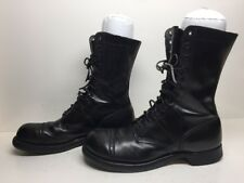VTG MENS CORCORAN MILITARY LEATHER BLACK BOOTS SIZE 10.5 D