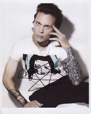 Ville Valo (Him) Signed 8 x 10 Photo Genuine In Person