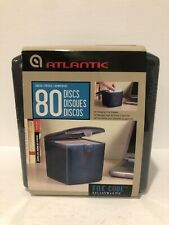 80 DVD CD DISC Blu-ray Video Game Holder Storage Case Organizer Box FILE CUBE
