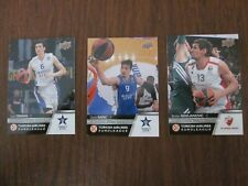 2015-16 Upper Deck Turkish Airlines Euroleague Complete Set of 100