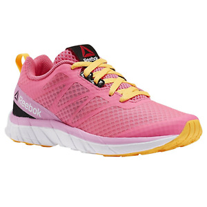 Reebok SoQuick Kids Children Girls Sport Shoes Trainers Sneaker pink V72607 WOW