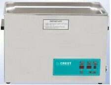 NEW Crest 2.5 Gallon CP1200D Ultrasonic Heated Cleaner