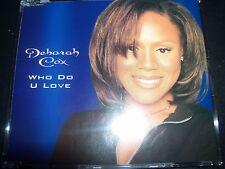 Deborah Cox Who Do You Love Australian Remixes CD Single – Like New