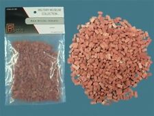 Pegasus PG5199 - Small Red Bricks 28mm Scale Approx. 7mm x 3mm x 2mm - 1st Post