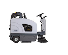 Nilfisk SW 4000 B Aufsitz-Kehrmaschine Kehrsaugmaschine Hochentleerung MIT AKKUS
