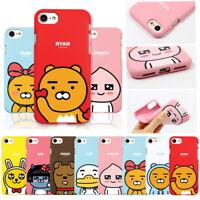 Kakao Friends Cutie Soft Jelly Case for Samsung Galaxy S10 S10+ S10e S9 S8 S7 S6