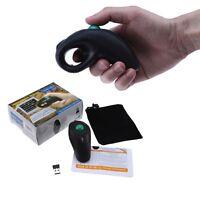 USB Wireless PC Laptop Finger HandHeld Trackball Mouse Mice w/ Laser Pointer