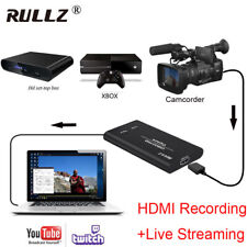 HD 1080p 60fps HDMI Video Capture Card Game Recording Box Live Streaming Device