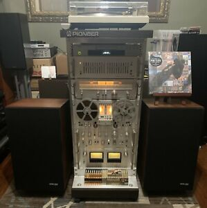 Pioneer Spec System Complete With Speakers And Rack