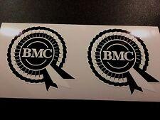 BMC Rosette Helmet Car Classic Retro Car Decals Stickers 1 off pair 75mm