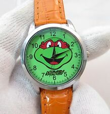 "Nickelodeon,""MIKEY"" Teenage Mutant Ninja Turtles, MENs KIDs CHARACTER WATCH, 886"