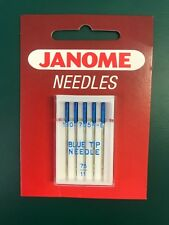 Janome Blue Tip Machine Embroidery Needles Size 75/11
