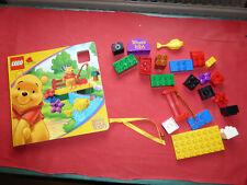 LEGO DUPLO - Dépliant Winnie the Pooh + quelques blocs - Lire et photos