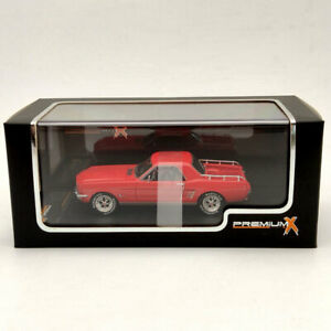 Premium X 1:43 FORD MUSTANG MUSTERO 1966 RED PR0467R Limited Edition Collection