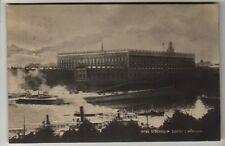 Sweden - Stockholm, Slottet - Real Photo Postcard 1910