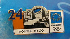 COUNTDOWN 24 MONTHS TO GO (ENGLISH) GATE IN OLYMPIA - ATHENS 2004 OLYMPIC PIN