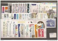ANNEE COMPLETE NEUVE XX 1989 TIMBRES LUXE