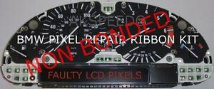 BMW X5 E53 E39 E38 Speedometer Instrument Cluster LCD Pixel Repair Ribbon Speedo
