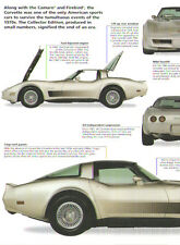 1982 Chevy Corvette Collector Edition Article - Must See !!