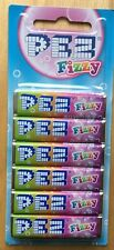 EUROPEAN PEZ FIZZY CANDIES CANDY REFILL MOC 12 PIECES