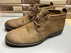 Timberland Earthkeepers Waterproof brown suede ankle boots Mens Size 9 US/5923R