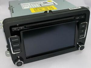 VW RCD510 Radio Autoradio mit MP3 Wechsler + SD Slot 3C8035195F