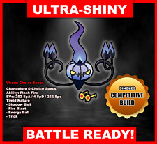 Pokemon Sword/Shield Ultra Shiny Battle Ready Chandelure FAST DELIVERY