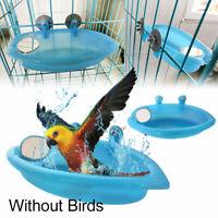 Vogelbadewanne- Vogel Badehaus Badehäuschen für Wellensittiche Papagei Papagei