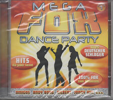 Mega Fox Dance Party CD NEU 16 Titel Amigos Jazz Gitti Andy Borg Atlantis Belsy