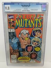 New Mutants #87 CGC 9.8 WP Marvel 1990 1st appearance of Cable LIEFELD MCFARLANE
