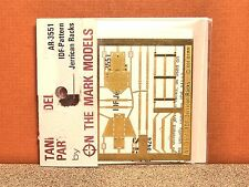 1/35 ON THE MARK MODELS IDF-PATTERN JERRICAN RACKS PHOTO ETCH SET # 3551