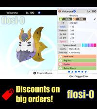 6IV Ultra Shiny Volcarona Pokemon Sword and Shield (Square Shiny)