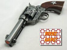 """Replica M1873 """"FAST DRAW"""" STAR PISTOL Peacemaker Prop Cap Gun Texas Rangers"""