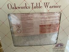 Table warmer and fleece pad in-one-from Oakworks