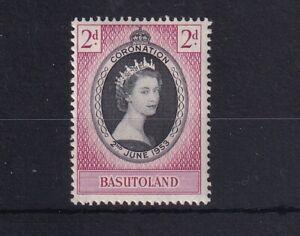 BASUTOLAND 1953 QEII Coronation SG 42 LMM
