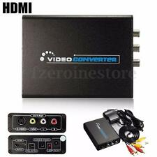 1080P HD HDMI to S-Video CVBS 3RCA AV Composite R/L Audio Adapter Converter HDTV