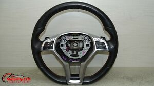 2014 MERCEDES A CLASS AMG MULTIFUNCTION FLAT BOTTOM STEERING WHEEL PADDLE SHIFTS