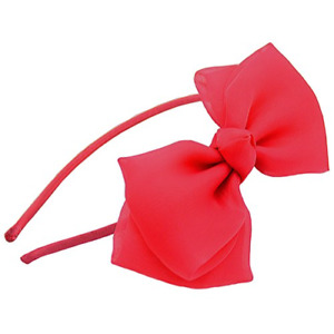 Oversized Bow Tie Headband Hair Accessories Big Bow Party Supplies Cosplay GO9