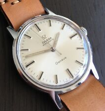 Vintage Omega Genève Ω - 1969  – Silver Dial Geneve Automatic– Stunning!