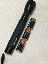 Black & Decker  LED Flashlight BD4W3C-B -180 Lumen with 3 Batteries