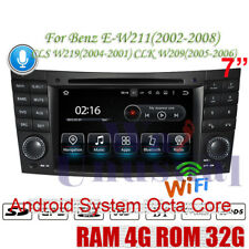 Android 9.0 Car DVD GPS Player For Benz E-Class W211 2002-2008 Radio Multimedia