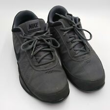 Nike Air Ring Leader Low Gray & Black Tennis Shoes Size 8 488102-002