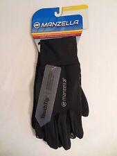 Women's Sport Gloves MANZELLA TOUCH TIP Multi-Use M/L Black Level WARM NEW