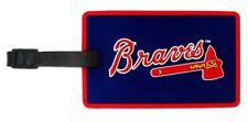 Atlanta Braves ID Tag Bag Tag Rubber Luggage Travel Tag MLB