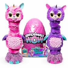 Hatchimals WOW, Llalacorn 32-Inch Tall Interactive Electronic Pet (Styles May Va
