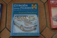haynes manual citroen xsara picasso 2000-2002  petrol + diesel